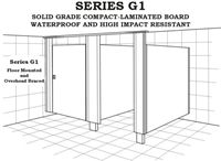 Shower Partition - Series G1