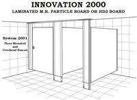 Toilet Partition - Innovation 2000 - System 2001